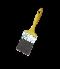 Flat brush with 100% PBT bristle