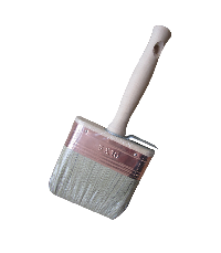 Ceiling brush with 80%tops white natural bristle
