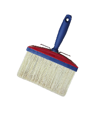 Ceiling brush with 100% white natural bristle