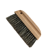 Wall brush with grey bristle