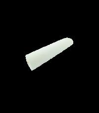 Foam roller with one side flat