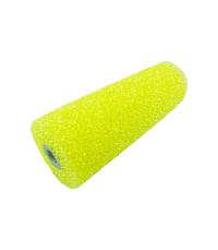 Foam roller with medium textured
