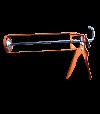 Open caulking gun