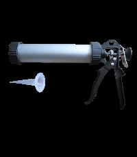 Professional aluminum caulking gun